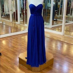 ✔️ royal blue bridesmaid dress